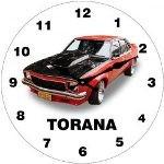 Holden Torana 17cm Glass Clock (Min Order Qty 3)