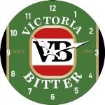 VB 17cm Glass Clock (Min Order Qty 3)