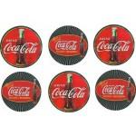 Coasters Set of 6 - Coca-Cola (Min Ord Qty 1)