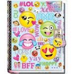 Emoji Diary with Lock & Keys (Min Order Qty 2)