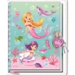 Mermaid Diary with Lock & Keys (Min Order Qty 2)