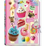 Sweet Crush Scented Lockable Diary (Min Order Qty 2)