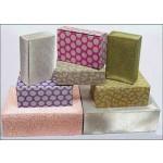 Glitter Gift Box 1 Piece 19 x 14 x 8cm (Min Order Qty 10)