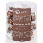 ***PRE-ORDER***  Chocolatier Gingerbreads 360g Tub (Individually Wrapped) - Min order Qty 1