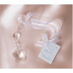 Bridal Charm Clear Butterfly Bead (Min Order Qty 3)