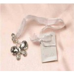 Bridal Charm Beads & Butterfly Silver (Min Order Qty 3)