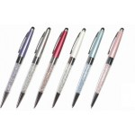 Crystal Pen with Touch Screen stylus and Ballpoint Assorted Colours (Pack of 24) (Min Order Qty 1)
