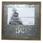 """DAD Photo Frame  6""""x4"""" Metal Matte (Min Order Qty 2)"""
