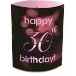 LED Lantern Happy 30th Birthday (Min Order Qty 2)