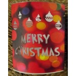 Christmas Paper Lantern with LED's - Christmas Baubles