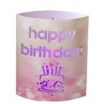 LED Lantern Happy Birthday (Min Order Qty 2)