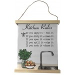 Kitchen Rules Canvas (Min Order Qty 1)