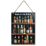 Beer of the World Garage Sign 30x40cm (Min Ord Qty 3)