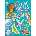 ***Coming September 2021*** Funky Stickers Amazing Animals (Min Ord Qty 2)