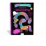 ***Coming September 2021*** Scratch Art Fun Dreamy Unicorns (Neon) (Min Ord Qty 2)