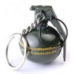 Key Ring - Grenade (Min Ord Qty 12)