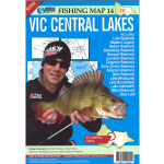 AFN Fishing Map #14 - Victorian Central Lakes