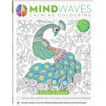 Mindwaves Calming Adult Colouring Flora & Fauna (Min Order Qty 3)
