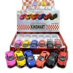 Die Cast Matte Lamborghini  Display of 12 Assorted (Min Order Qty 1)