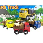 Die Cast Farm Truck  Display of 12 Assorted (Min Order Qty 1)