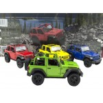 Die Cast 2018 Jeep Wrangler  Display of 12 Assorted (Min Order Qty 1)