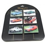 Car Magnets Pack of 18 with Metal Display Stand (Min Order Qty 1)