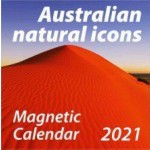Australian Natural Icons 2021 Magnetic Calendar (Min Order Qty 5)
