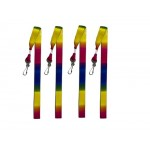 Rainbow Lanyards Pack of 12 (Min Order Qty 1)