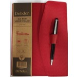 Debden A5 Pen Loop Folio with Pen Red (Min Order Qty 2)