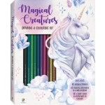 Magical Creatures Colouring & Drawing Kit (Min Order Qty 2)