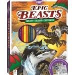 Pop Colour Epic Beasts Colour & Activity Kit (Min Order Qty 2)