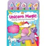 Unicorn Magic: Drawing, Colouring & Activity Book (Min Order Qty 2)