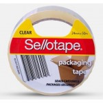 Sellotape Packing Tape 48mm x 50m Clear (Min Order Qty 5)