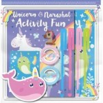Pencil Case Pack Unicorns & Narwhals (Min Order Qty 2)