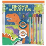 Pencil Case Pack Dinosaur Activity Fun (Min Order Qty 2)