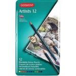 Derwent Pencils Artist Tin of 12 (Min Order Qty 1)