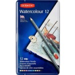 Derwent Pencils Watercolour Tin of 12 (Min Order Qty 1)