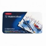 Derwent Pencils Watercolour Tin of 72
