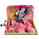 Cuddle Buddies Flamingo Display of 12 (Min Order Qty 1)