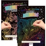 Scratch Art Creations Assorted Pack of 6 (Min Order Qty 1)