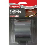 Clingtape U.S. Gaffa Cloth Tape 48mm x 10m Silver  (Min Order Qty 2)