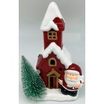 Ceramic Christmas House LED 19cm  (Order in Qty's of 2)