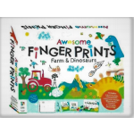 Awesome Finger Prints Kit Farm and Dinosaurs (Min Ord Qty 1)