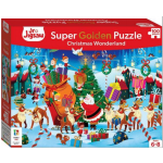 Christmas Wonderland Junior Jigsaw 100pce (Min Ord Qty 2)