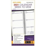 Collins 2021 Calendar Year - Day planner Slimline Week to View Refill (Min Order Qty 5) **Available August 2020** Special Order Item