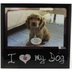 Photo Frame I Love my Dog 18x17cm (Order in Multiples of 4)