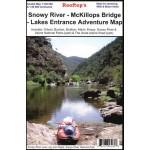 Rooftops Snowy River - McKillops Bridge - Lakes Entrance Adventure Map (Min Order Qty 1)