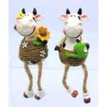Shelf Sitters Cows Nic & Juz (Order in Multiples of 8)