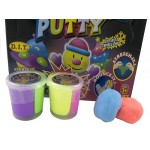 Bouncing Putty Twin Colour Diaply of 12 (Min Order Qty 1)