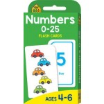 School Zone Flash Cards Numbers 0-25 (Min Order Qty 2)